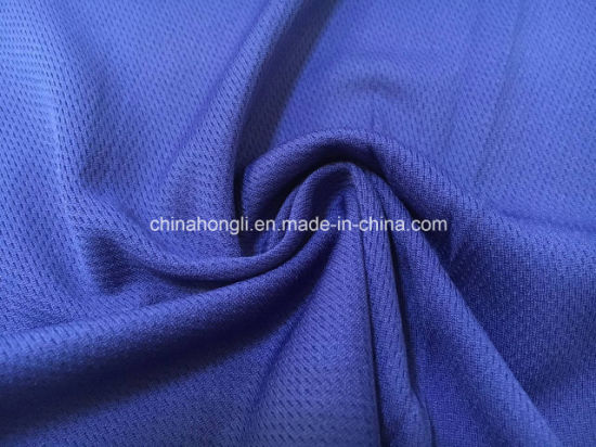 Bird-Eye 100%Poly, 150GSM Single Jersey Knitting Fabric for Sport Apparel with Anti-UV pictures & photos