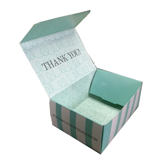 Customized Corrugated Hard Cardboard Paper Gift Boxes with Logo for Packaging