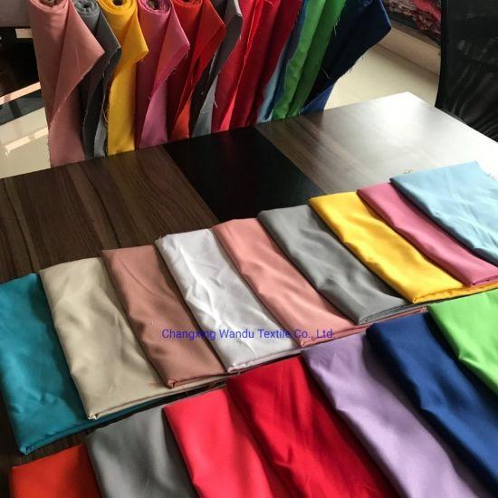 100% Polyester Microfiber White Bedsheet Fabric Plain White for Bed