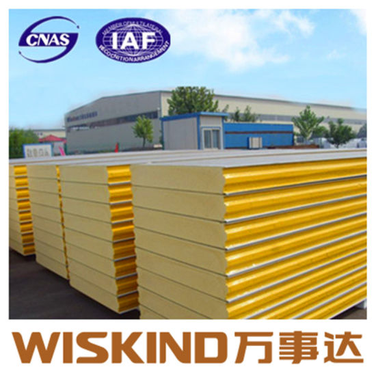 PU Sandwich Wall Panel for Steel Structure Building pictures & photos