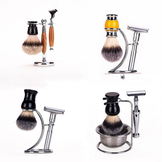 Men's Shaving Brush Badger Shaving Brushes and Synthetic Shaving Brush