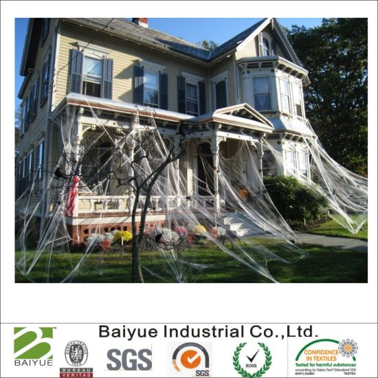 China Halloween Polyester Spider Web Value Pack Party