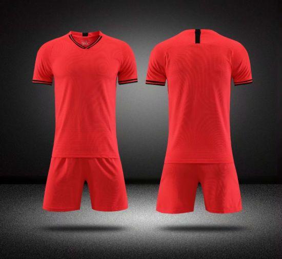 2020 Paris Orange Men Soccer Wear Uniforms