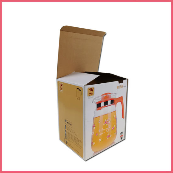 Custom Logo Printed Recycled Corrugated Cardboard Paper Kitchen Tool Home Appliances Retail Product Shipping Mailer Gift Packing Packaging Carton Box