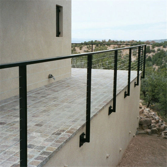 China Stainless Steel Balcony Cable Railing Design Terrace ...