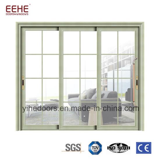 China Standard Size Aluminium Patio Sliding Door And Windows China