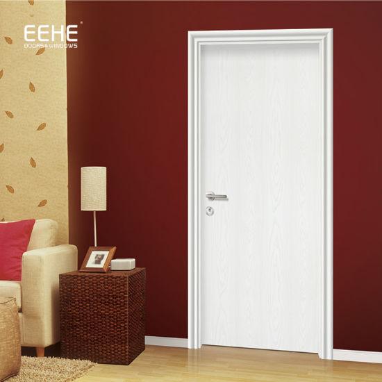 MDF Laminated Flush Door White Painting