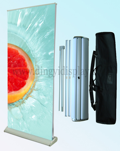 Luxury Custom Double Sides Banner Stand Retractable Roll up Banner Stand
