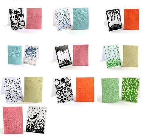 Creative 3D PP Plastic Embossing Folder pictures & photos