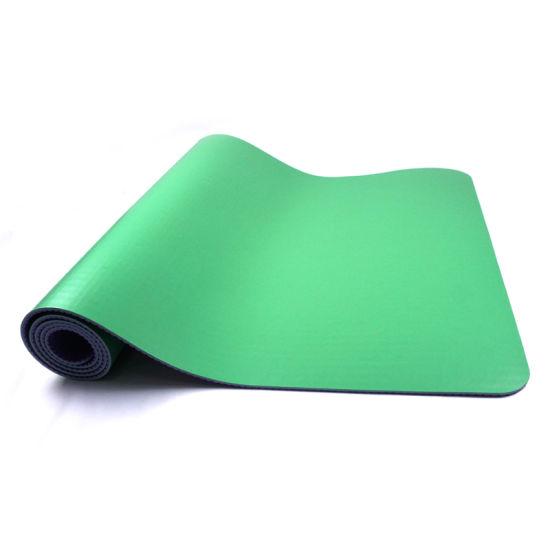 Custom Print Color Eco Friendly Non-Slip PU Fitness Mat