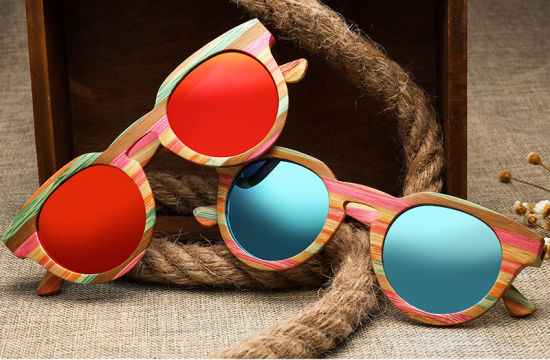High-End Wooden Sunglasses Manufacturers Direct Sales