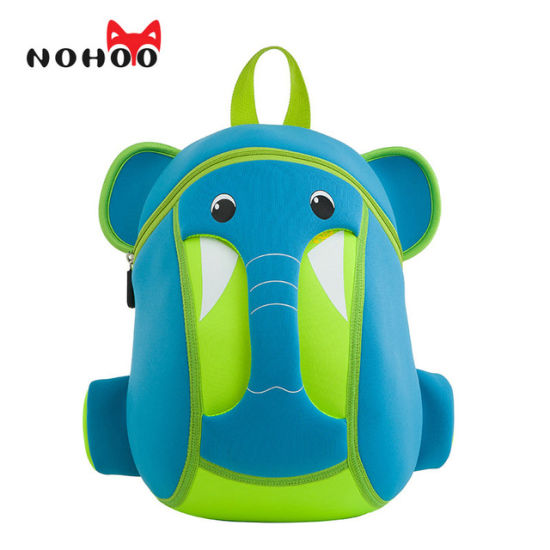 2a469d2552 Kids Backpack Waterproof 3D Cartoon Children School Bags Neoprene Elephant Small  School Backpacks for Girls Boys
