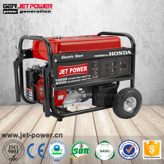 Single Phase Ep6500 5000W 5000watt 5kw 5kVA Gasoline Honda Generator Prices