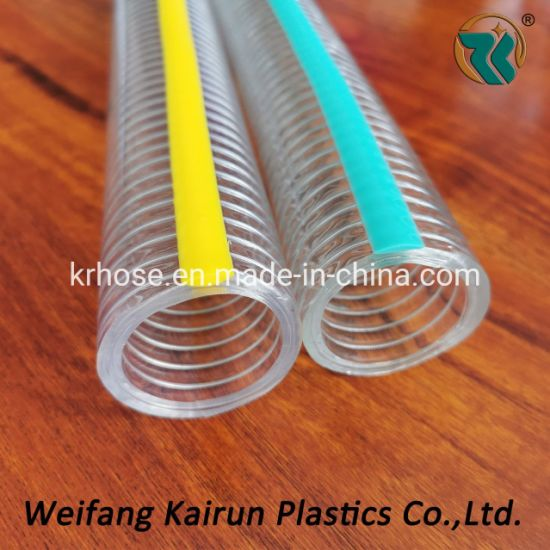 High Quality Water Pump PVC Water Steel Wire Hose