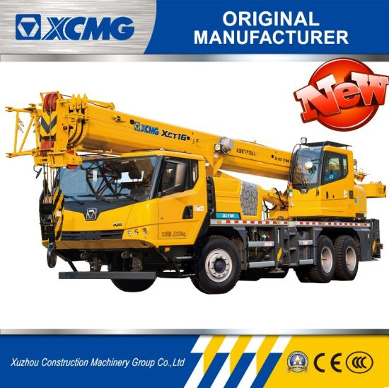 XCMG Xct16 16ton Truck Crane Tower Crane for Sale pictures & photos