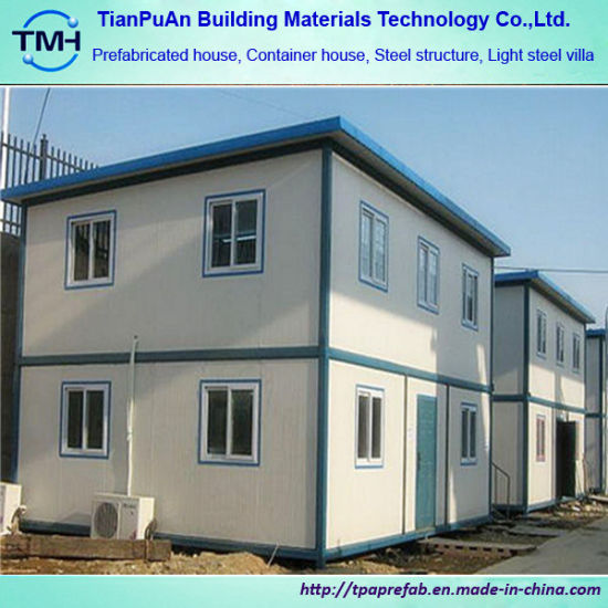 ISO Certificated High Quality Prefabricated House for Labor Camp pictures & photos