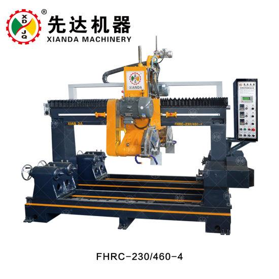 Multi -Function Stone Baluster Cutting Machine Granite / Marble Profile Machine