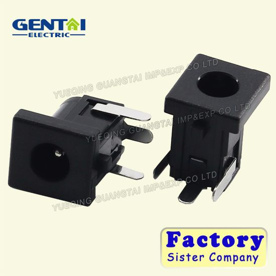 Right Angle Power Connector/Through Hole DC Power Jack