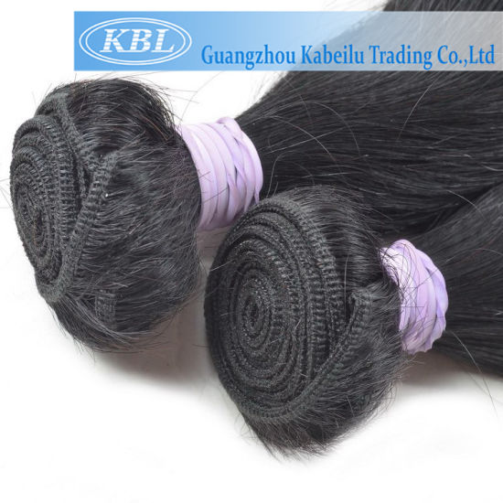 Brazilian Hot Sale Hair, Jet Black Hair pictures & photos