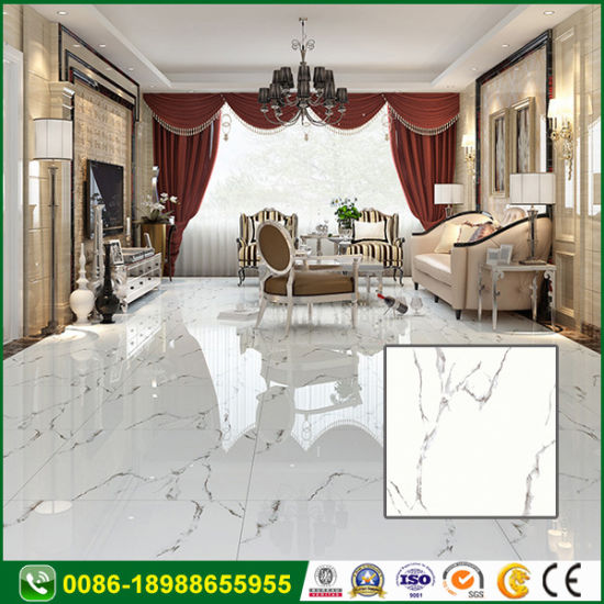 Wood Look Full Polished Glazed Floor Porcelain Ceramic Tile for Bathroom pictures & photos