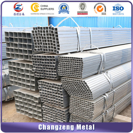Black Square Steel Pipe for Struction (CZ-SP23) pictures & photos