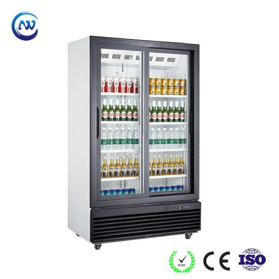 Commercial Upright Beverage Display Cooler (LG-1000SP)