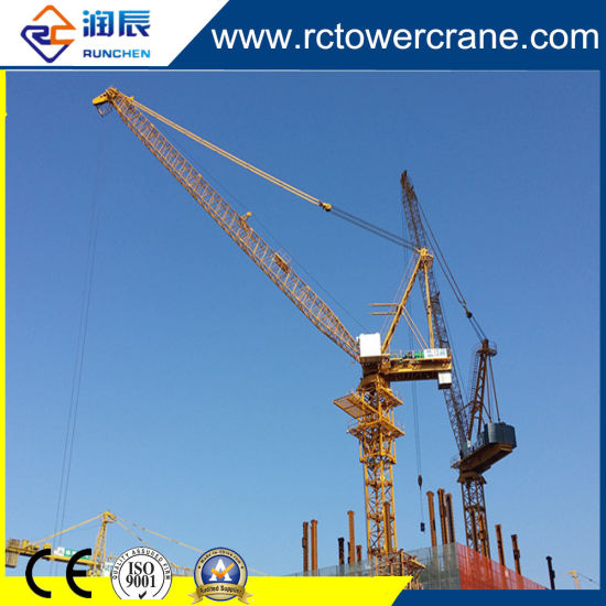 Self-Erecting Luffing Tower Crane Rct4015 with Ce ISO