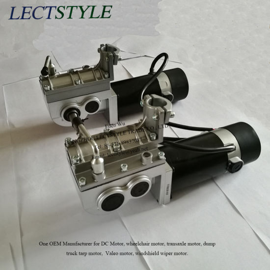 24V 250W Left & Right Brushed Electric Wheelchair Hub Motor & Power Wheelchair Motor pictures & photos