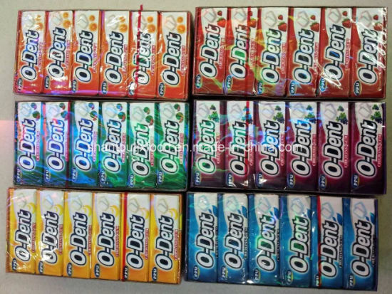 9 PCS Chewing Gum 6 Flavors pictures & photos