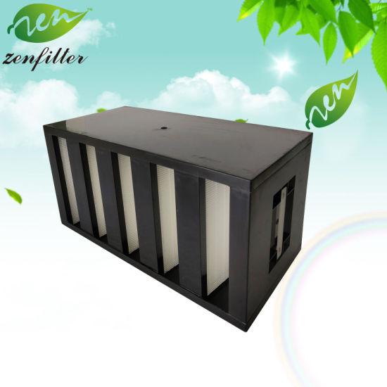Polyurethane Frame Glassfiber HEPA Filter for Air Purification System