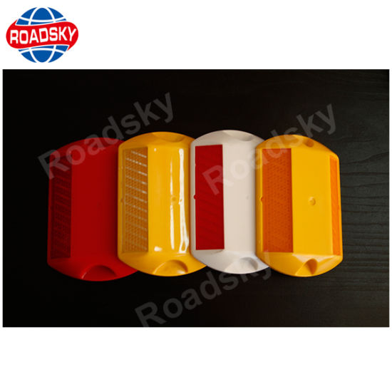 Safety Double Side Reflective Plastic Road Stud in ABS Material pictures & photos