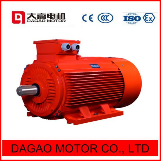 315kw 4pole Three-Phase Induction Electrical Motor for Water Pump pictures & photos