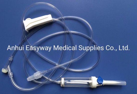 Disposable IV Administration Set Eo Sterile