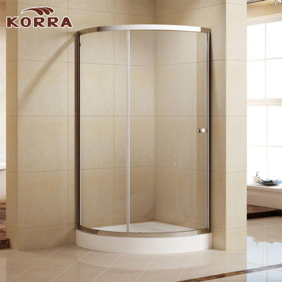 China Aluminum Profiles Shower Cubicle with ABS Round Handle (K-336 ...