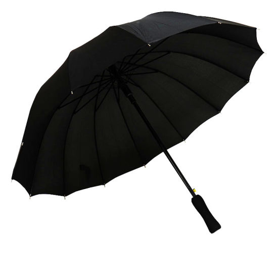Automatic Open14 Ribs Straight Umbrella (YZ-19-98)