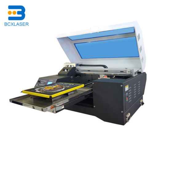 8 Colors High Resolution Industrial Large Format Garment Printer for T Shit Jeans Pants