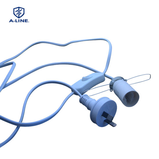 SAA Approved Australian Salt Lamp Power Cord and 303 Switch and E12 Holde