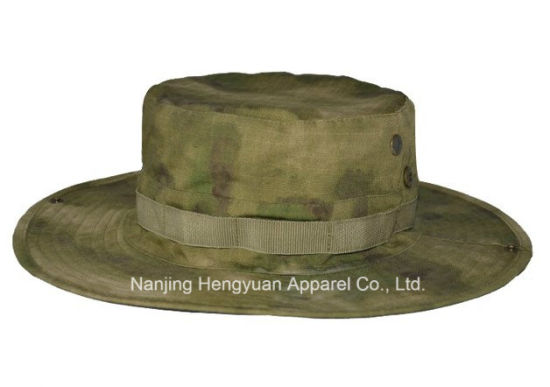 Custom Cotton Military Multicam Camo Bucket Cap with String (HY18121011/HY18121012/HY18121013/HY18121014/HY18121015/HY18121016) pictures & photos