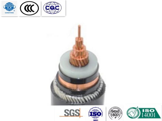 Steelwire Armoured Single Core XLPE Insulated PVC Sheathed Power Cable