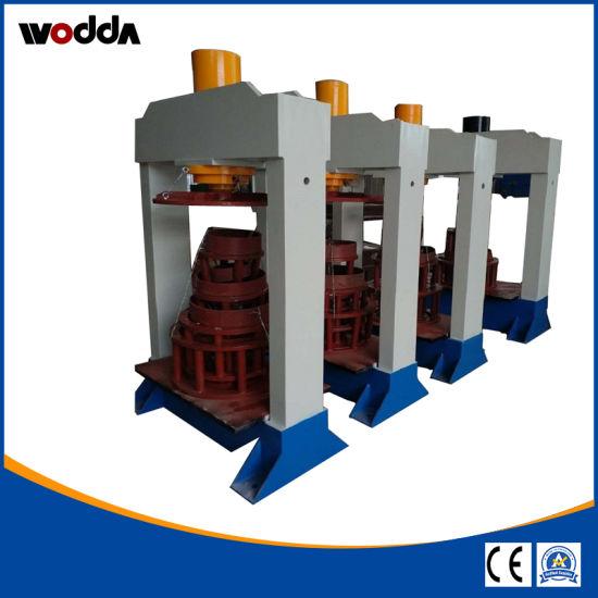 80ton 120ton 160ton 200ton Hydraulic Forklift Solid Tire Press
