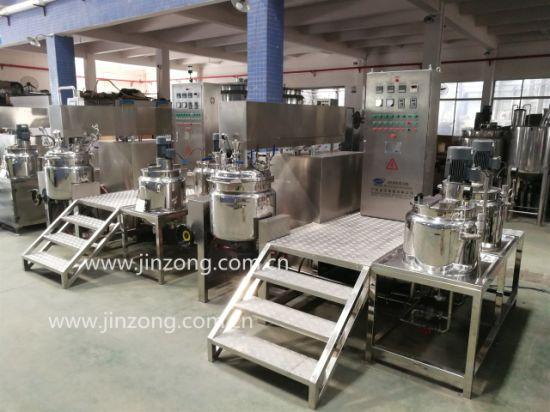 Jinzong High Efficiency Jrk Series Vacuum Homogenizer Machine