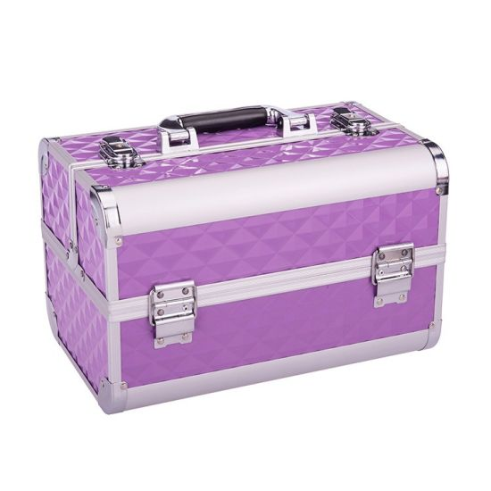 2019 New Fashion Women Cosmetic Storage Boxes Makeup Vanity Case