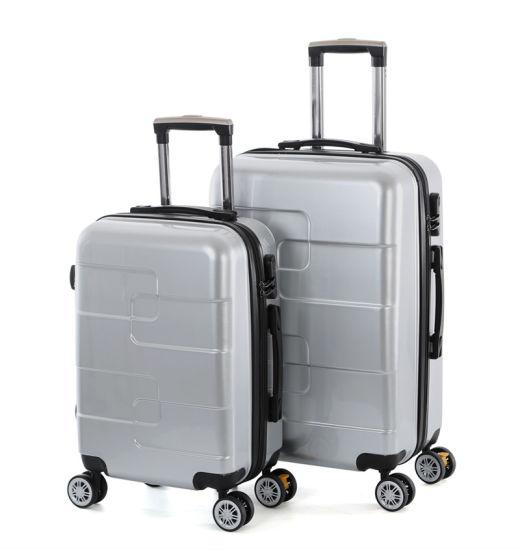 Fashion Design Wheels with Lock Suitcase, Aluminum Trolley Luggage (XHP110)