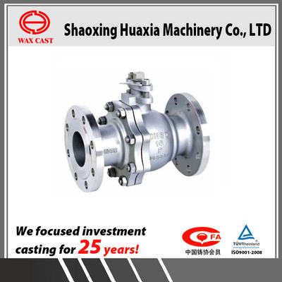 Stainless Steel Manual Flange Floating Ball Valve