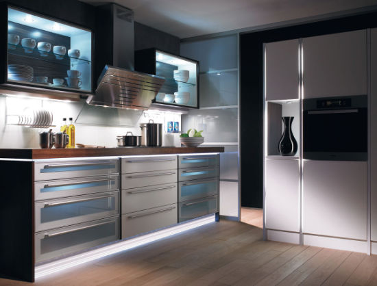 Stainless Steel Kitchen Cabinets/Metal Cabinet Kitchen pictures & photos