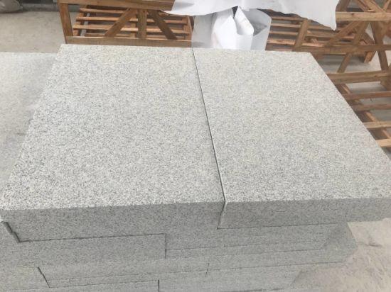 Hubei G603 Light Grey Granite for Flamed Paving