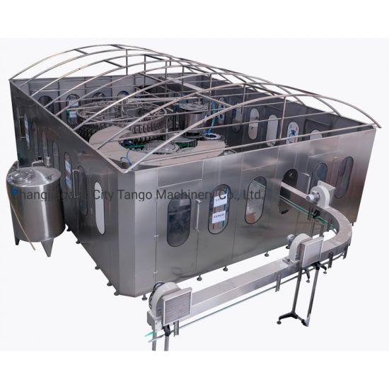 Automatic Glass Bottle Filler Beverage Liquid Mineral Drink Pure Water Treatment Filter Purifier Filling Bottling Packing Sealing Production Lines Machine