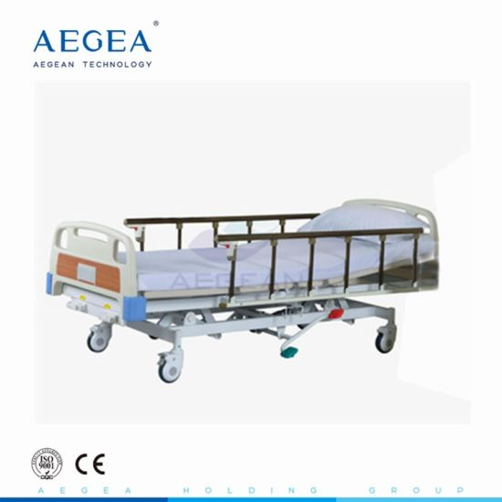 AG-Bmy001 ISO&CE Hydraulic 3 Function Medical Bed
