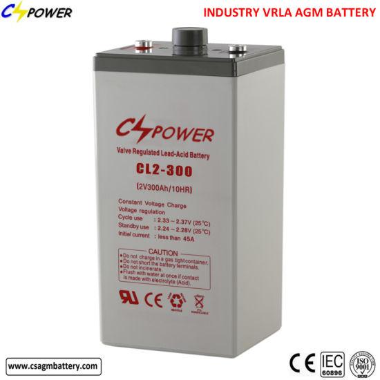 2V 300ah Sealed VRLA AGM Lead Acid Battery for UPS