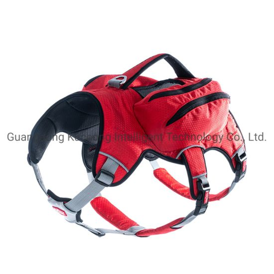 Training Dog Vest Dog Harnesses Dog Clothes with Side Bags